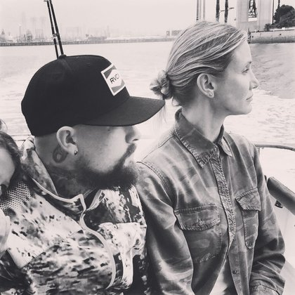 Cameron Diaz y Benji Madden tienen una relación desde el 2014 (Foto: Instagram @benjaminmadden)