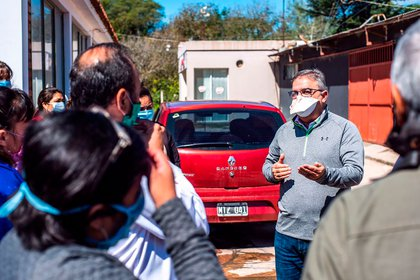 """""""Tomamos algunas decisiones rápidas"""", dijo Jalil, como argumento de la ausencia de casos de coronavirus en Catamarca."""