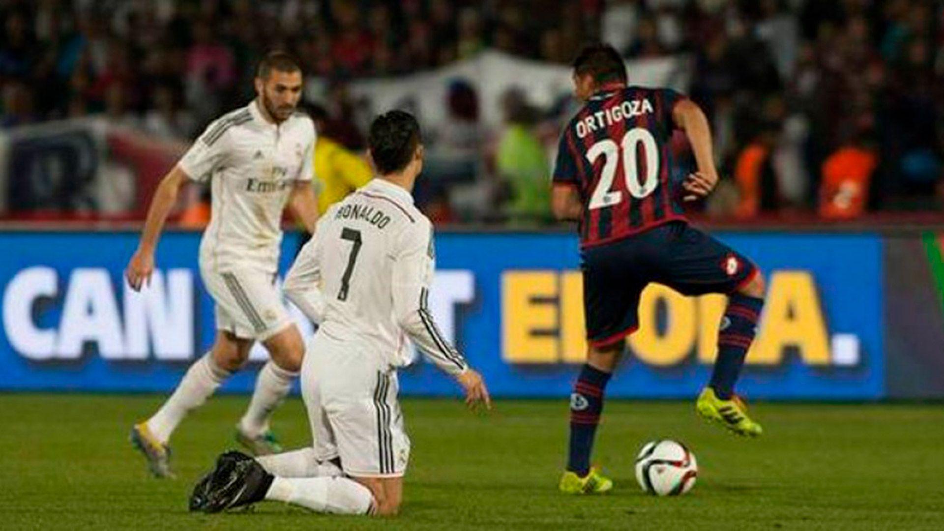 Ortigoza Cristiano Ronaldo