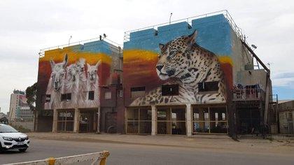 Las paredes fueron intervenidas por los artistas plásticos Bernardo Ezcurra, Alfredo Segatori y Martín Ron (Gentileza: Puerto de Buenos Aires)
