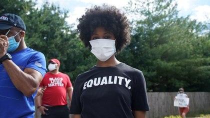 La desigualdad es tan grande —el patrimonio de una familia negra es el 10% de una blanca— que hasta la expectativa de vida de los afroamericanos es menor. (REUTERS/Lawrence Bryant)