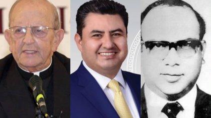 Marcial Maciel, Naasón Joaquín García y Nicolás Aguilar, tres ministros de culto acusados de abuso sexual (Fotos: Archivo y Especial)
