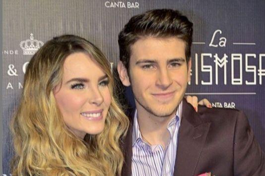 "Belinda junto a su hermano, Ignacio ""Nachito"" Peregrin"