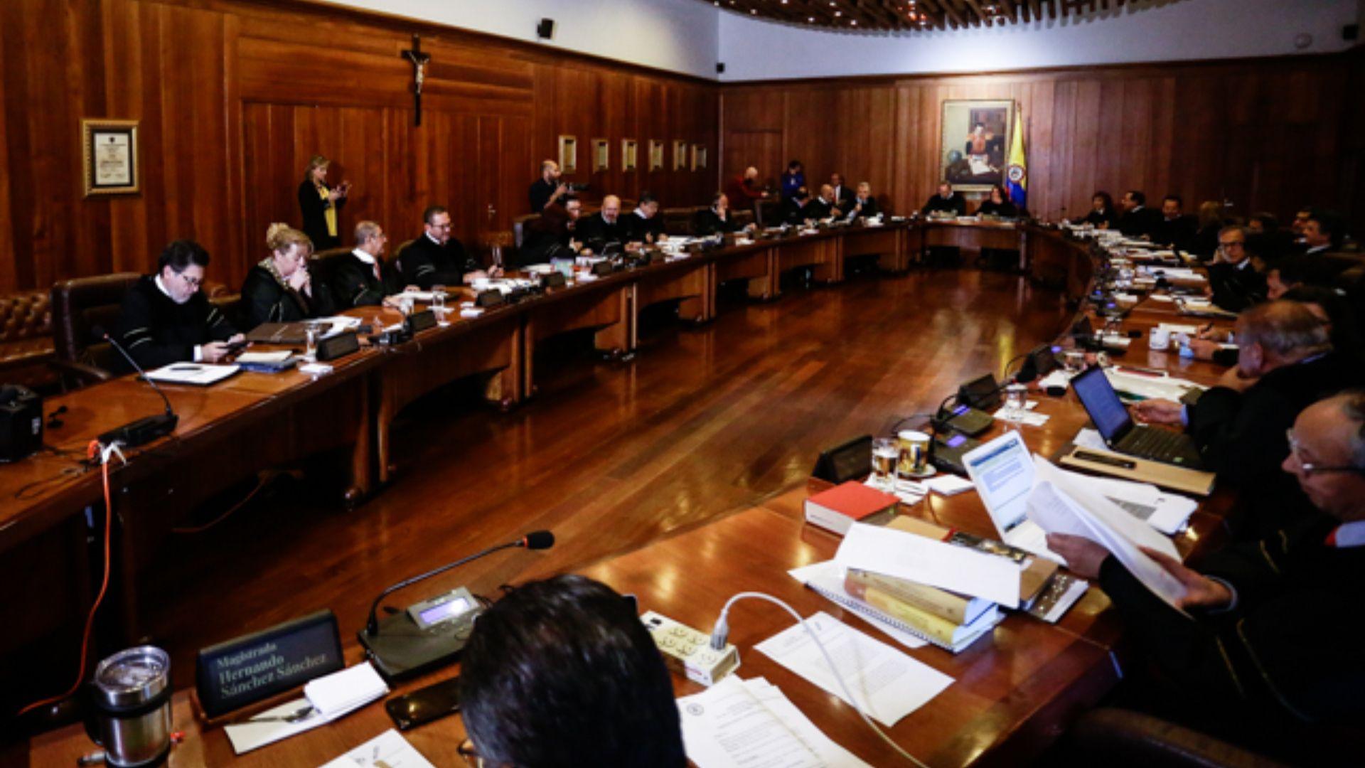 Sala Plena del Consejo de Estado. (Colprensa - Diego Pineda)