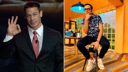 """La peculiar disculpa del """"Capi"""" Pérez tras la entrevista con John Cena: """"A lo mejor sí estuvo aquí y no lo pudimos ver"""""""