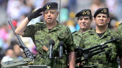 El general Roberto Miranda Sánchez aspiraba a la Sedena en el ocaso de su carrera (Foto: Cuartoscuro)