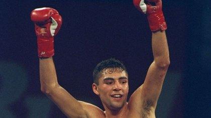 En 1992, Óscar de la Hoya ganó una medalla de oro para Estados Unidos en los Juegos Olímpicos de Barcelona (Foto: Instagram @oscardelahoya)
