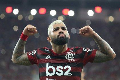En Flamengo volvió a explotar con un alto promedio de gol (Foto: Reuters)