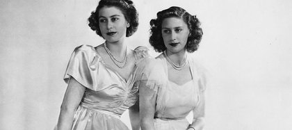 Isabal y su hermana menor, Margarita (Foto: Instagram/ The Royal Family)