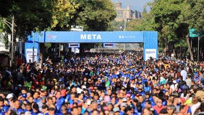 Este domingo 28 de julio se llevó a cabo la edición XIII de la media maratón de la Ciudad de México (Foto: Instituto del Deporte de la Ciudad de México)