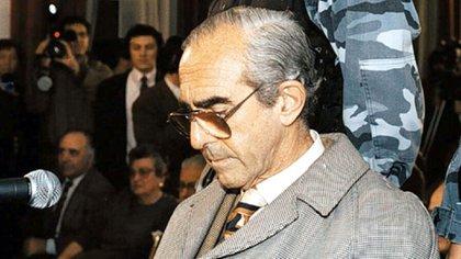 Ricardo Barreda durante la sentencia, en 1995. (Archivo)