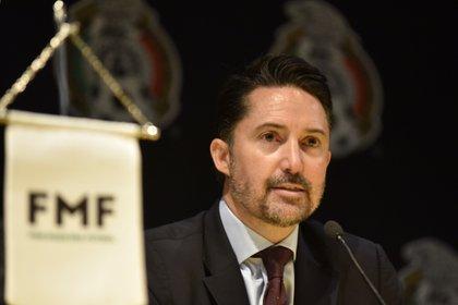 Yon de Luisa, presidente de la Federación Mexicana de Fútbol (Foto: Cuartoscuro)