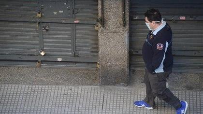 Para Laino, con millones de personas en cuarentena, la economía será uno de los sectores más perjudicados. Foto: Fernando Calzada.