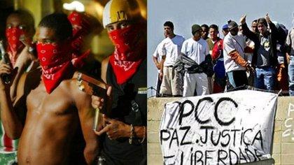 Comando Vermelho (CV), de Río de Janeiro, y el Primeiro Comando da Capital (PCC), de San Pablo