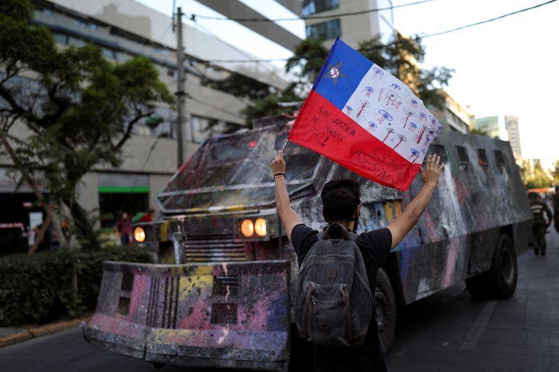 Protestas en Santiago de Chile el 3 de diciembre de 2019. REUTERS/Pablo Sanhueza