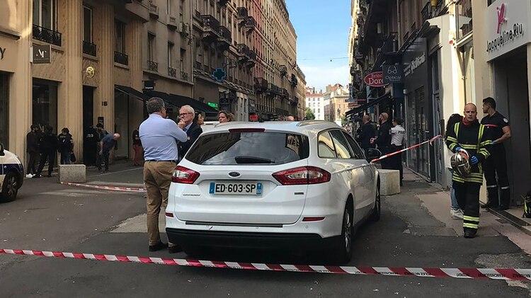 Las autoridades investigan los motivos del ataque (@prefetrhone)