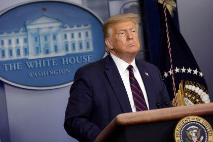 El presidente de Estados Unidos, Donald. Trump. EFE/ YURI GRIPAS