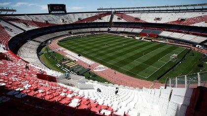 FOTO DE ARCHIVO: Vista general del interior del estadio Monumental de Rivel antes de la final de vuelta de la Copa Libertadores ante Boca Juniors. 25 de noviembre de 2018. REUTERS/Martin Acosta