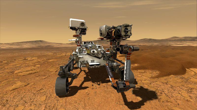 FOTO DE ARCHIVO. Imagen del Rover Perseverance, la nave laboratorio más sofisticada y de mayor tamaño en llegar a Marte, en una ilustración cortesía de la agencia espacial estadounidense. NASA/JPL-Caltech/Handout via REUTERS.  ATENCIÓN EDITORES: ESTA IMAGEN FUE PROVISTA POR UNA TERCERA PARTE
