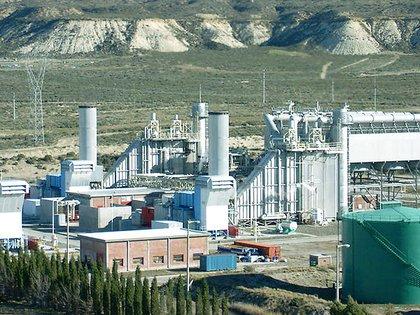 La planta de Aluar en Puerto Madryn