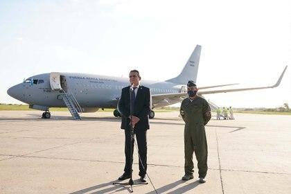 Para el Brigadier Mayor Xavier Isaac se ha iniciado una etapa de recepción de aeronaves y no de despedida de la mismas por llegar al fin de su vida útil
