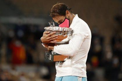 Rafa es el máximo ganador de la historia en Roland Garros (Foto: Reuters)
