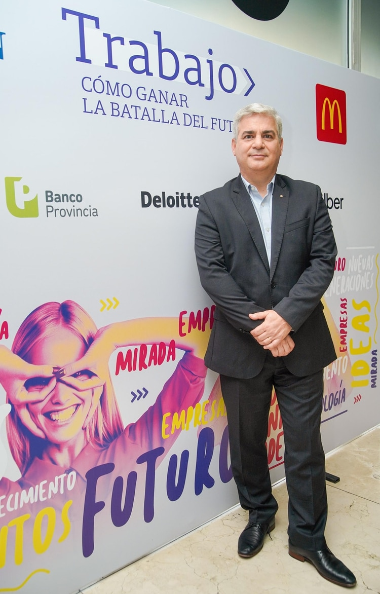 Alejandro Yapur, Presidente Divisional de McDonald's para la región sur de América Latina
