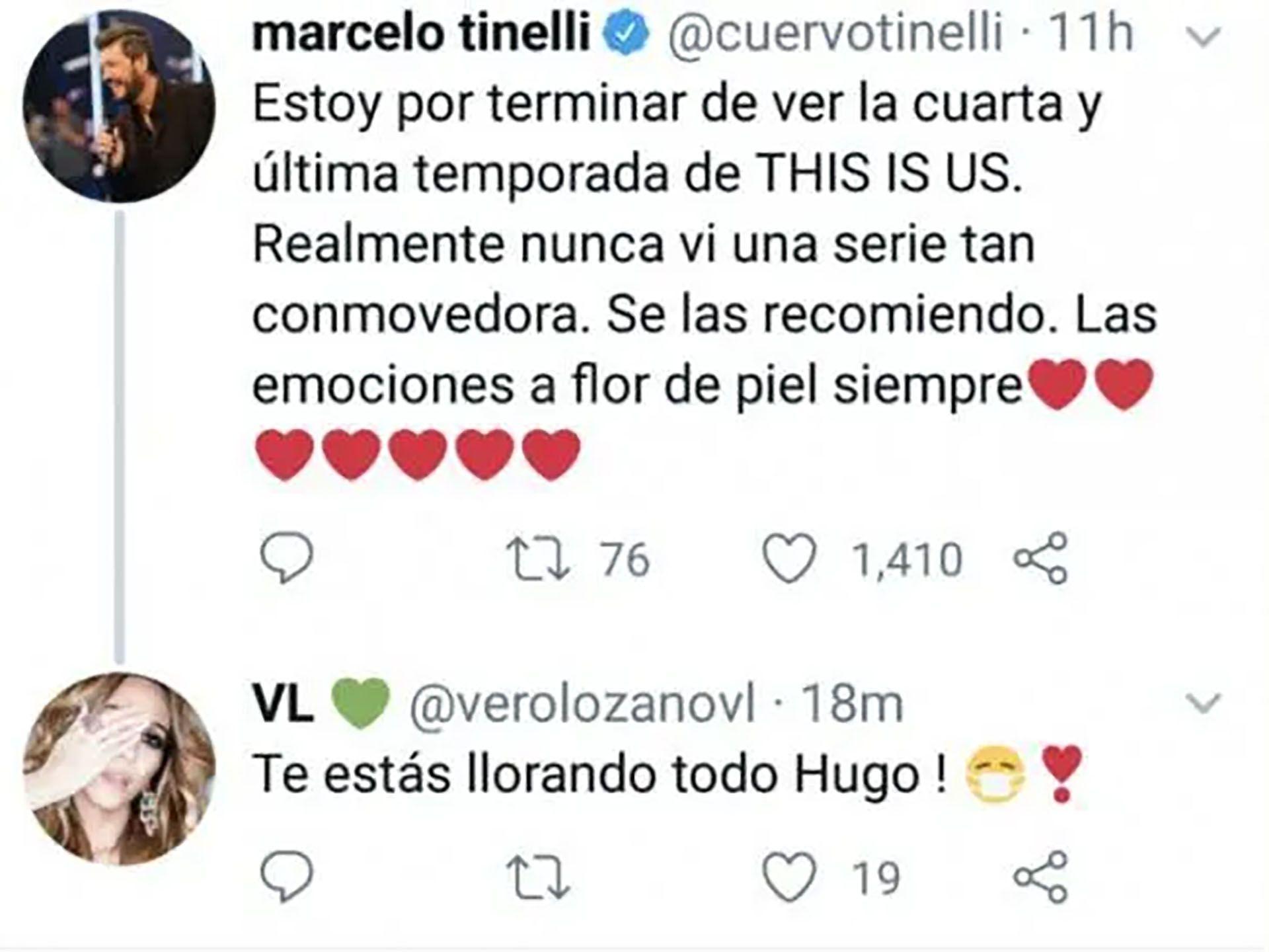 Marcelo Tinelli se declaro fanático de This is up
