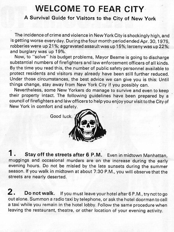 El logotipo que ayudó a cambiar la pésima reputación de Nueva York ...