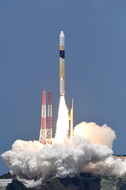 Nuevo satélite lanzado este martes (AFP)