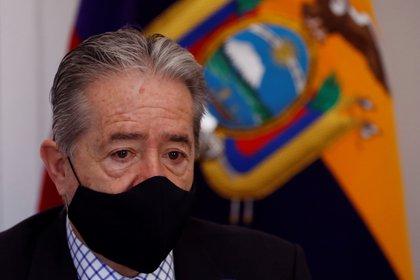 En la imagen un registro del ministro ecuatoriano de Salud Pública, Juan Carlos Zevallos. EFE/ J.J. Guillén/Archivo