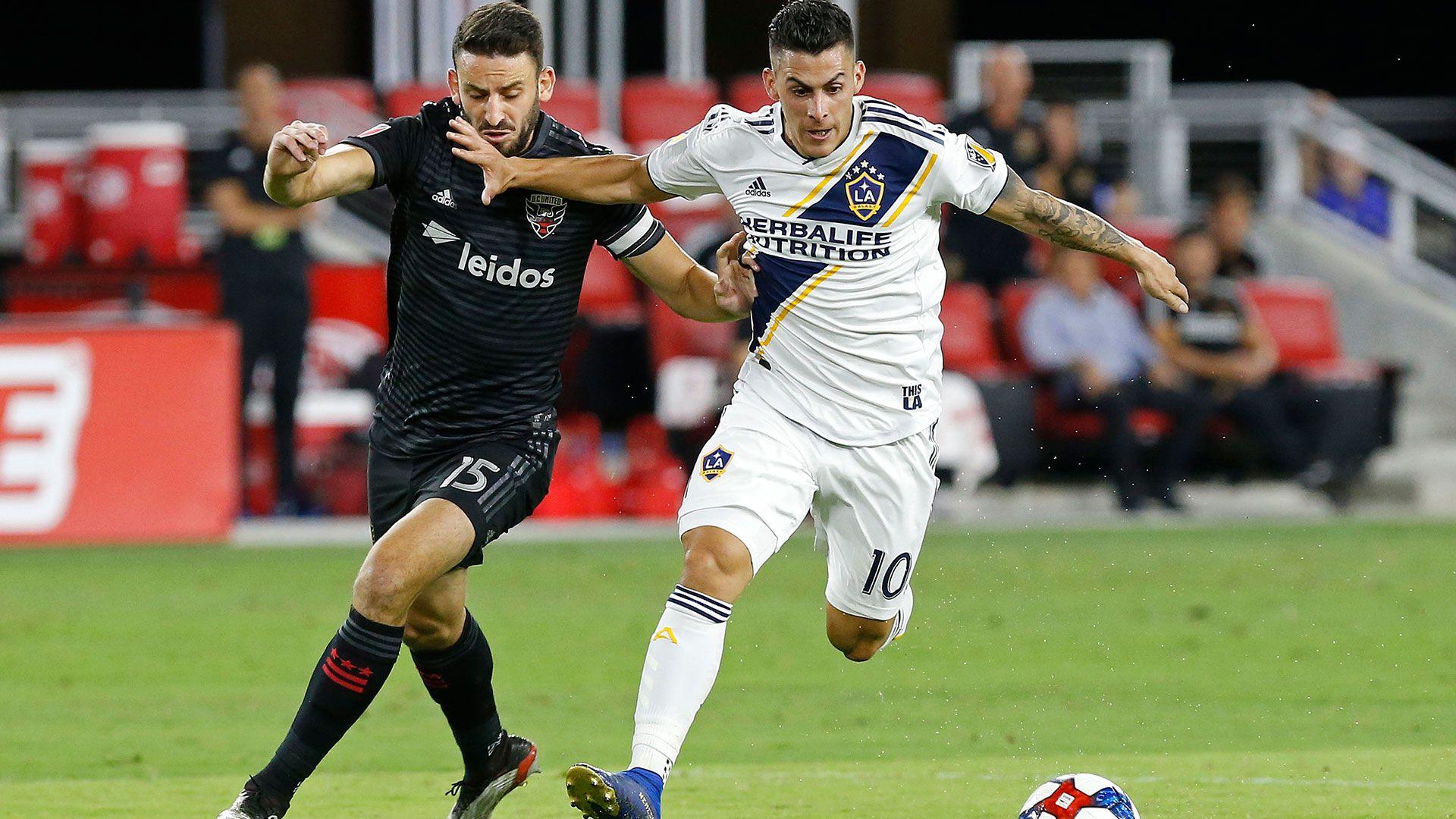 Pavón debutó en Los Ángeles Galax con una derrota (Reuters)