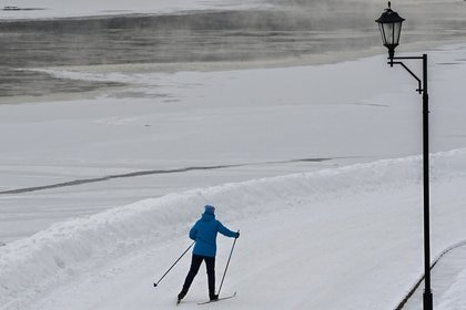 """Esta semana los meteorólogos rusos avisaron de que una nevada """"apocalíptica"""" cubriría Moscú durante el fin de semana."""