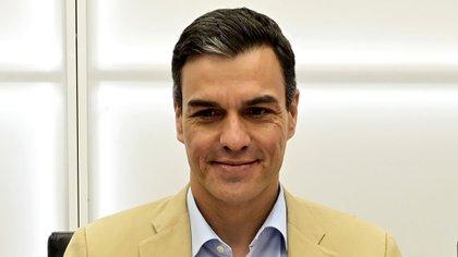Pedro Sánchez, presidente del gobierno español, fue clave para la aprobación del acuerdo político (AFP)