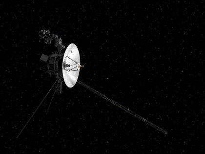 La sonda Voyager en un dibujo de NASA (NASA via REUTERS/archivo)