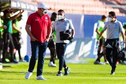 Guillermo Vázquez tuvo un flojo desempeño y perdió su puesto debido a estos malos resultados (Foto: Cortesía/ Atlético de San Luis)