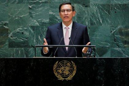 El presidente de Perú Martín Vizcarra (Reuters/ Eduardo Munoz)