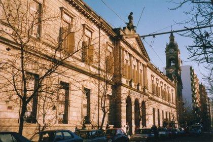 """El Hospital Provincial de Rosario, fundado como """"El Caridad"""" en 1855"""