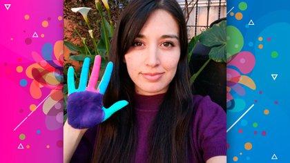 Blanca encontró en Youtube una manera de expresarse y contar su historia (Ilustración: Infobae/Isaac Vallejo)