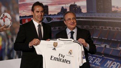 Cortocircuito entre Julen Lopetegui y Florentino Pérez (Reuters)