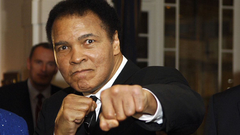 Muhammad Ali falleció el 3 de junio del 2016 (AFP)