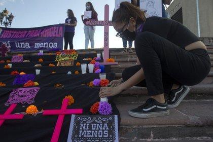 Las llamadas al 911 por violencia de género llegaron a un máximo histórico en abril y los feminicidios no se han detenido en el país (Foto: Gabriela Pérez Montiel/ Cuartoscuro)