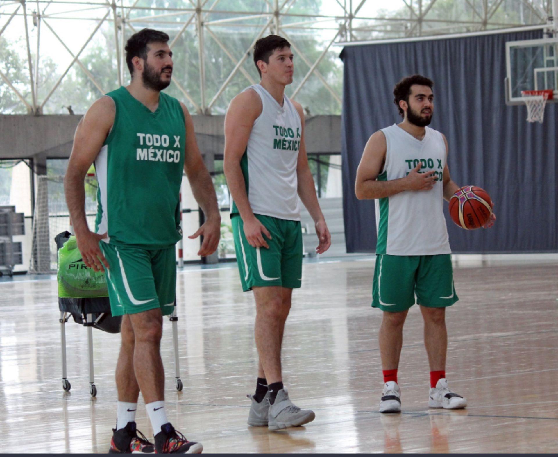 Caras nuevas en el Tri de basquet (Foto: Twitter)