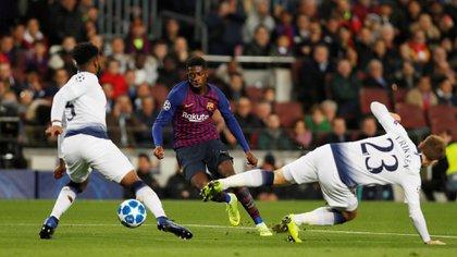 (Reuters) Dembelé será baja por cinco semanas