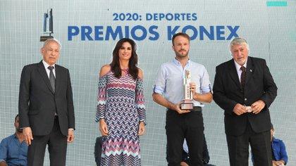 Martín Canapino ganó el Konex de automovilismo (Maximiliano Luna)