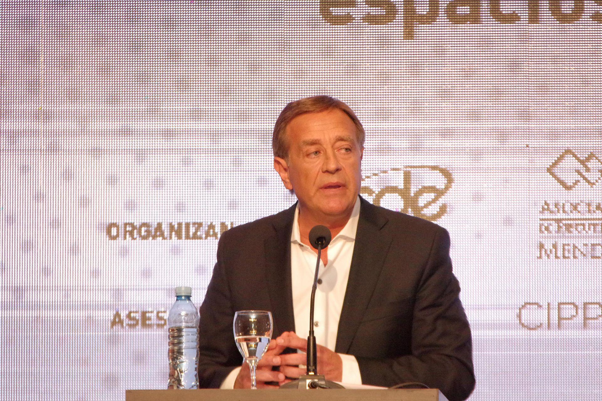 Rodolfo Suárez, candidato de Cambia Mendoza