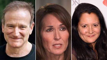 Robin Williams, Valerie Velardi y Marsha Garces