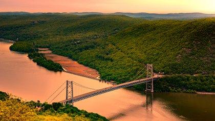A diferencia del área metropolitana de Nueva York, Upstate New York contiene vastas áreas de tierra rural (Shutterstock)