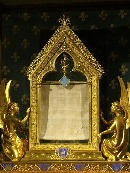 Relicario de la Túnica de la Virgen en la Catedral de Chartres, Francia