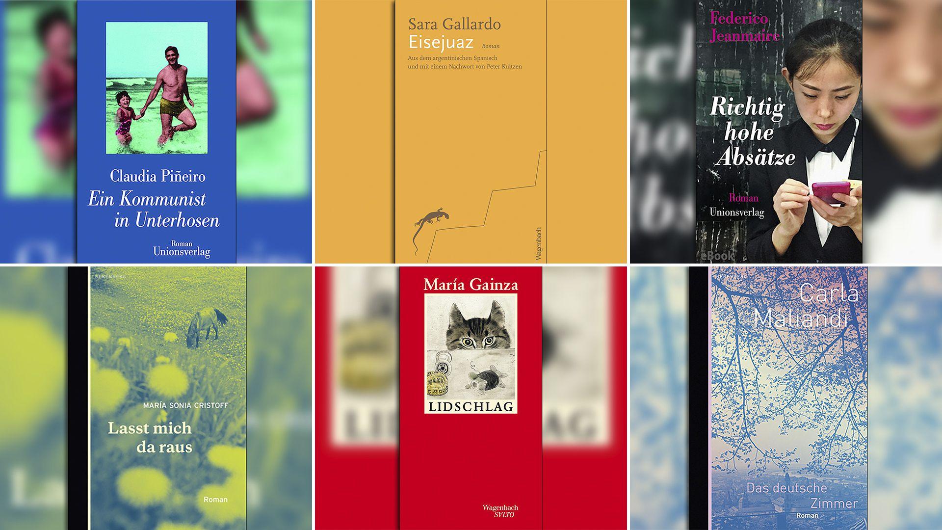 Algunos de los autores traducidos por el alemán Peter Kultzen